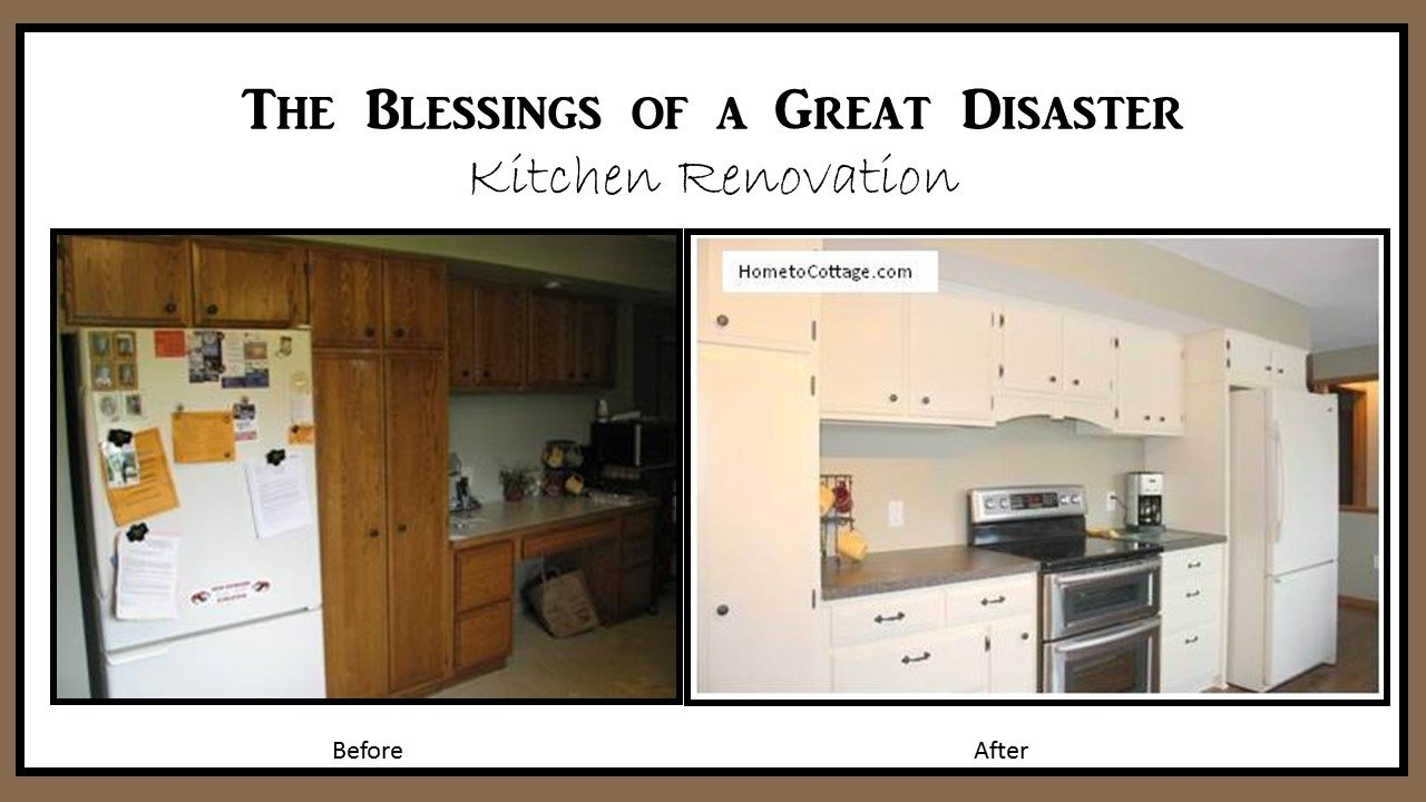 Someone Else's House: The Blessing of a Great Disaster!