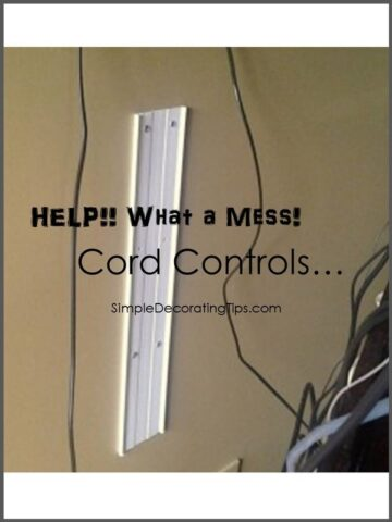 Monday's Simple Cleverness… More on Cord Controls