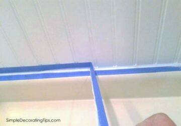 Monday's Simple Cleverness… Secret to Caulking the Edge of Beadboard