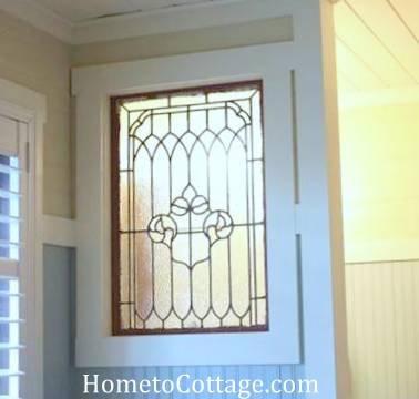 HometoCottage.com antique interior window