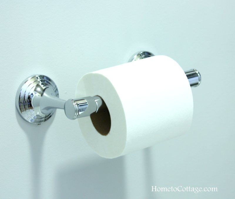 HometoCottage.com Pottery Barn toilet paper holder