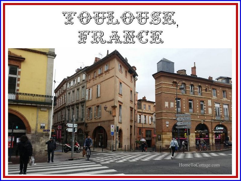 Toulouse, France… a glimpse through my son's eyes