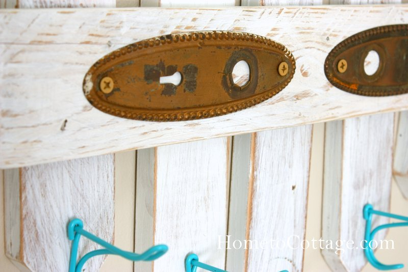 HometoCottage.com screws through backplates are long enough to secure to the wall