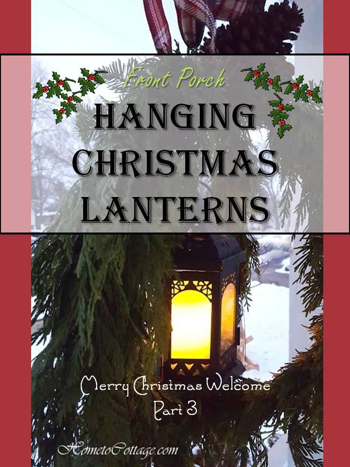 Hanging Christmas Lanterns