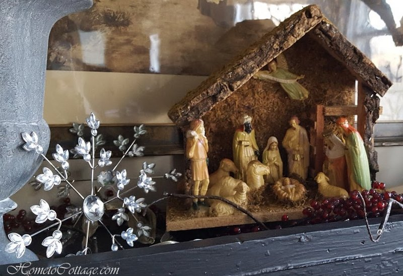 HometoCottage.com tan nativity