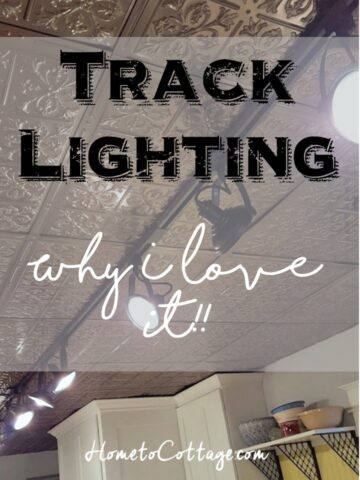 Track Lighting Why I Love it!!