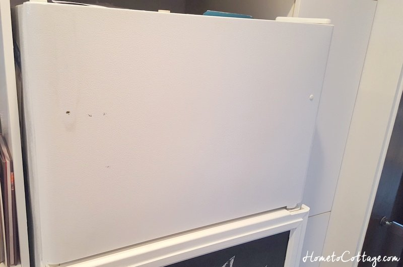 HometoCottage.com fridge with handle removed