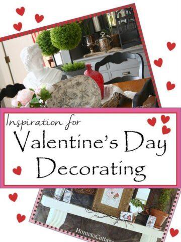 HometoCottage.com Inspiration for Valentine's Day Decorating