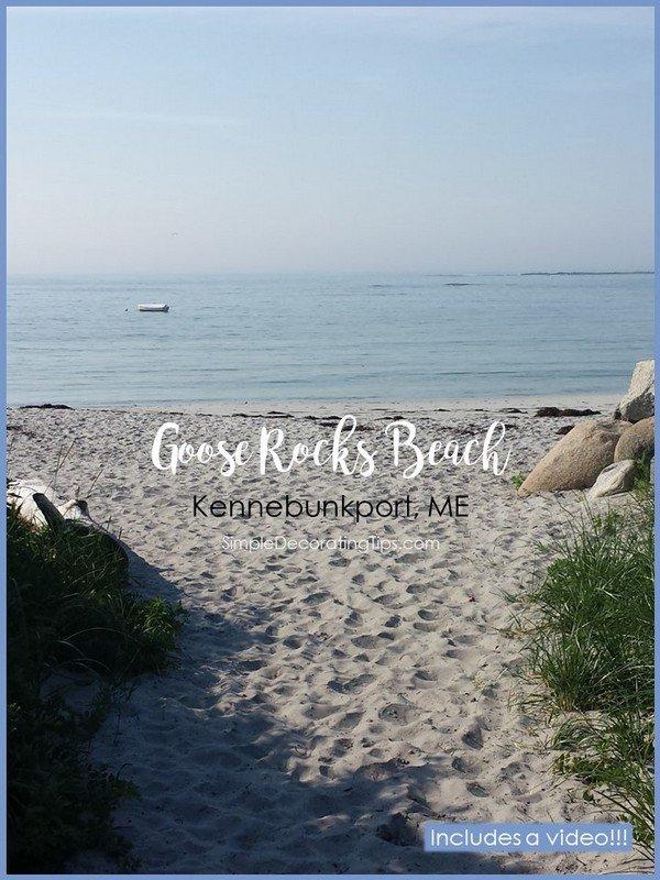 SimpleDecoratingTips.com Goose Rocks Beach