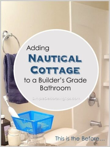 "<span class=""entry-title-primary"">Nautical Cottage Bathroom</span> <span class=""entry-subtitle"">Adding nautical cottage to a builder's grade bathroom on a budget</span>"