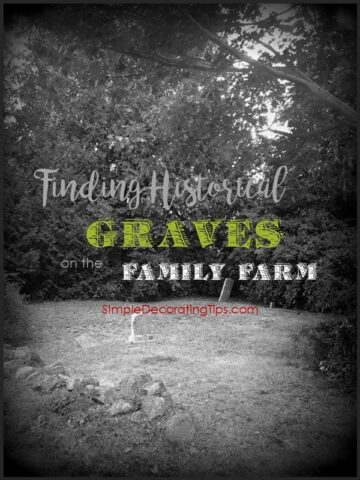 "<span class=""entry-title-primary"">Finding Historical Graves on the Family Farm</span> <span class=""entry-subtitle"">Would this give you the creeps?</span>"