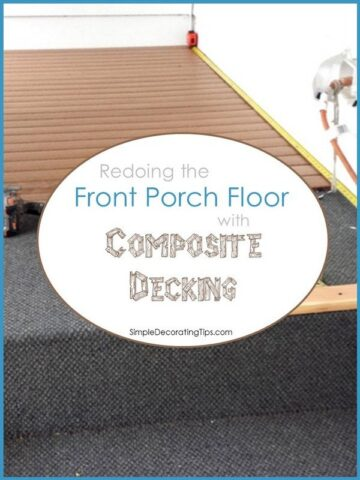 "<span class=""entry-title-primary"">Front Porch Composite Decking</span> <span class=""entry-subtitle"">redoing the front porch floor with composite decking</span>"