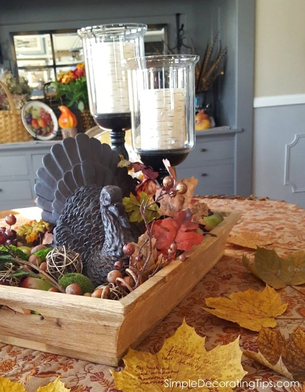 SimpleDecoratingTips.com 5 Tips for Thanksgiving Decorating