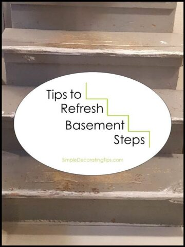 Tips to Refresh Basement Steps