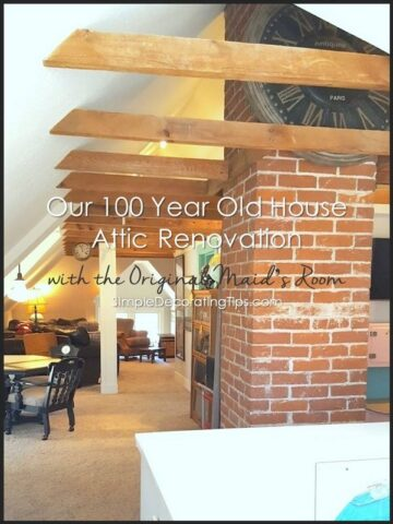Our 100 Year Old House Attic Renovation