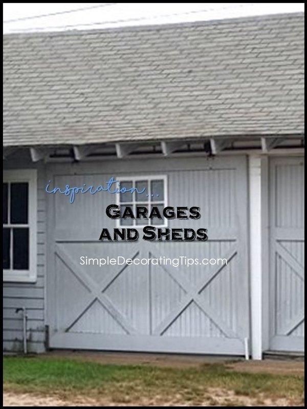 SimpleDecoratingTips.com Inspiration Garages and Sheds