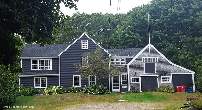 SimpleDecoratingTips.com Coastal Maine Houses & Cottages 2017