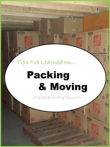 Here are a Few Important Tips I've Learned on Packing and Moving…