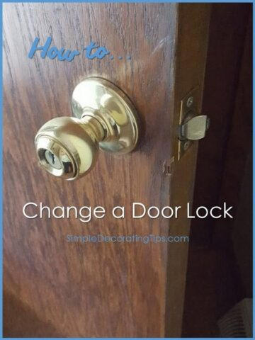 How to Change a Door Lock