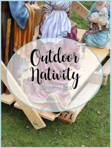 Outdoor Nativity