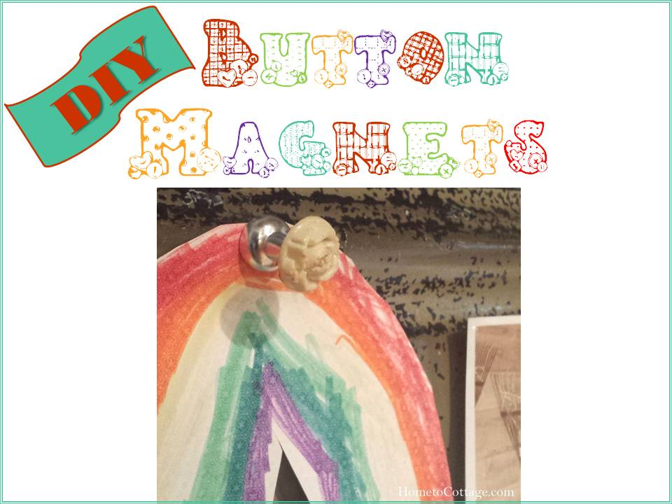 DIY Button Magnets