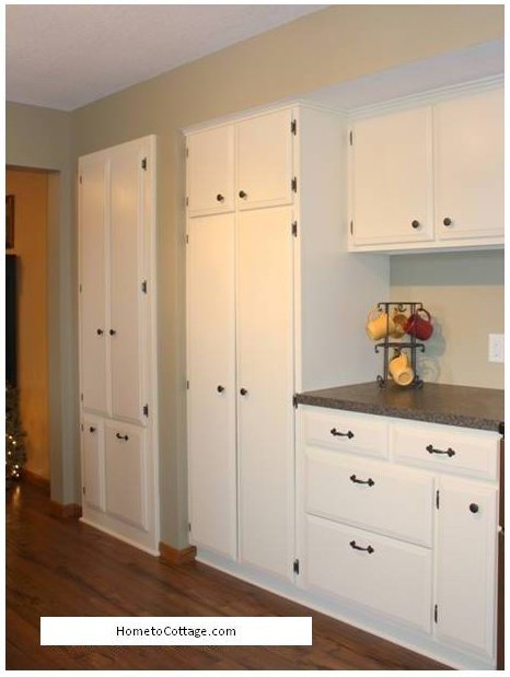 HometoCottage.com Remade kitchen pantry