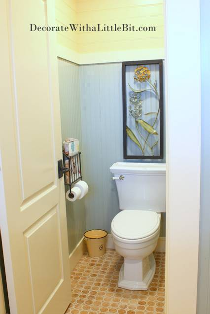 Toilet Room Designs: The Toilet Room In Our Master Bathroom, HometoCottage