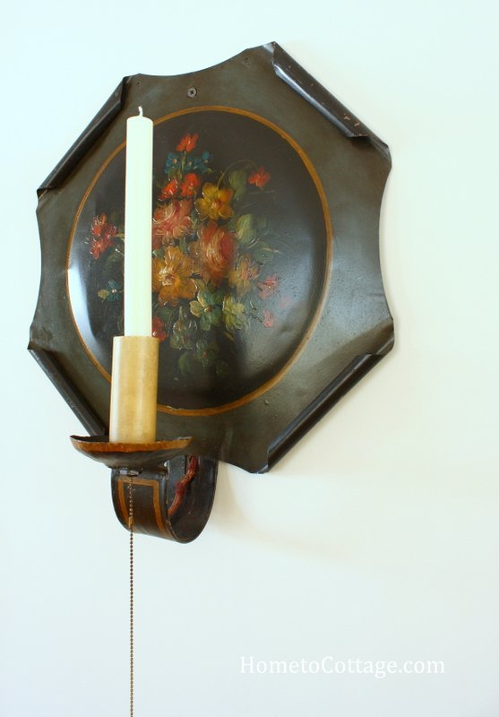 HometoCottage.com antique wall sconces