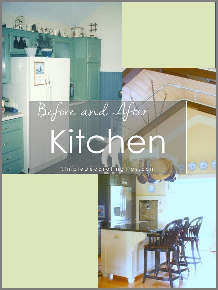 SimpleDecoratingTips.com Before and After Kitchen