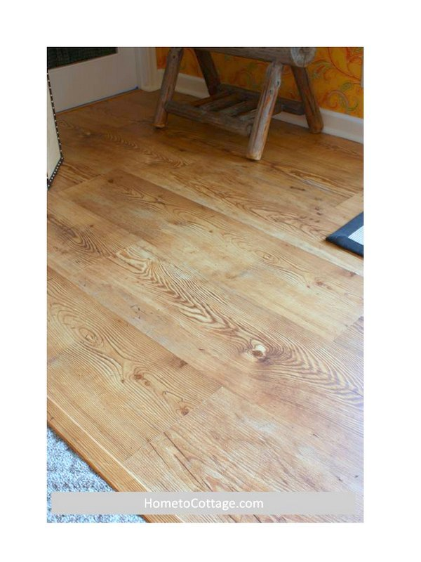 HometoCottage.com laminate floor done in former house