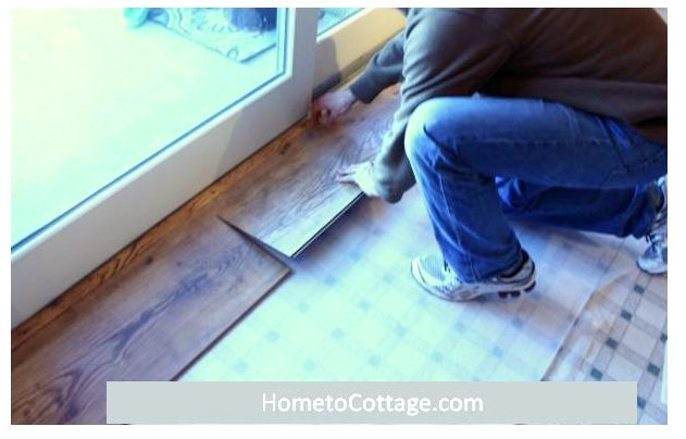 Diy Wide Plank Laminate Flooring Hometocottage
