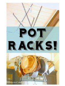 HometoCottage.com pot racks!