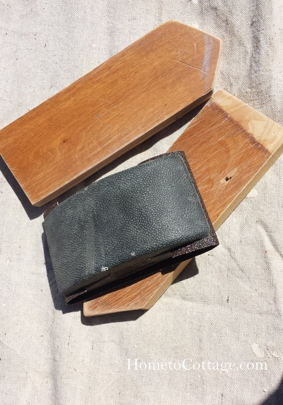 HometoCottage.com pickets cut, and now sanding