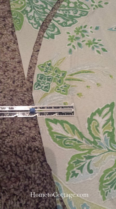 HometoCottage.com add 2 inches to pattern