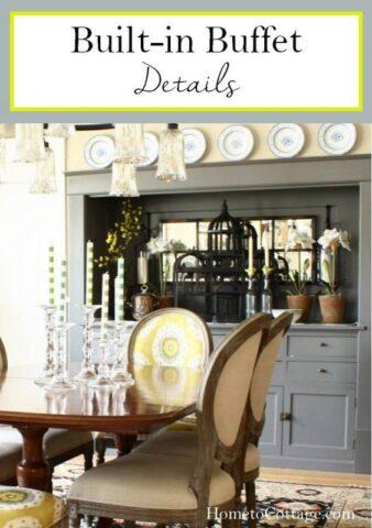 Built-In Buffet Details