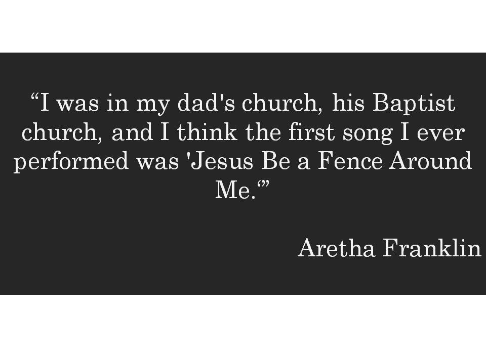 HometoCottage.com Aretha Franklin quote
