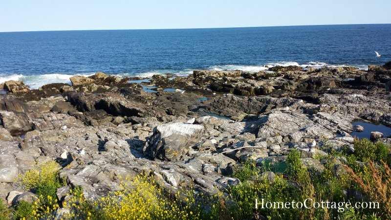 HometoCottage.com rocky coast of island