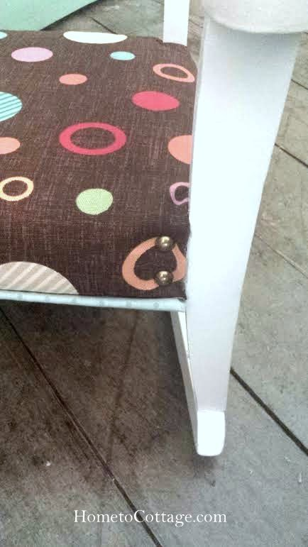HometoCottage.com vintage rocking chair brads done