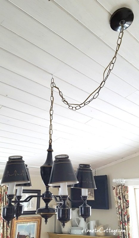 HOW TO MAKE A CHANDELIER LONGER - Simple Decorating Tips
