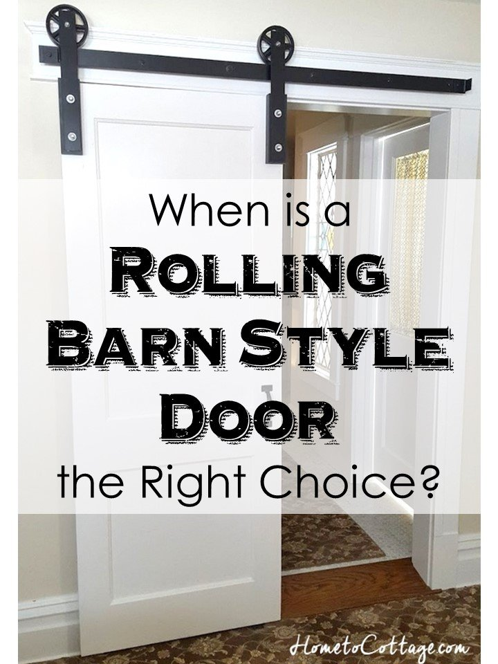 When Is A Rolling Barn Style Door The Perfect Choice Simple