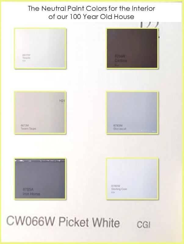 Interior paint colors for our 100 year old house simple for Neutral paint colors for home interior
