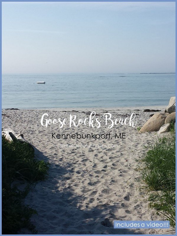 Goose Rocks Beach Simple Decorating Tips
