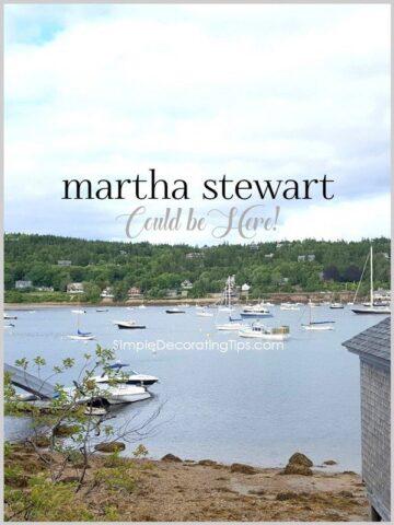 Martha Stewart Could be Here!