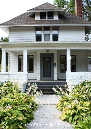 front porch composite decking SimpleDecoratingTips.com