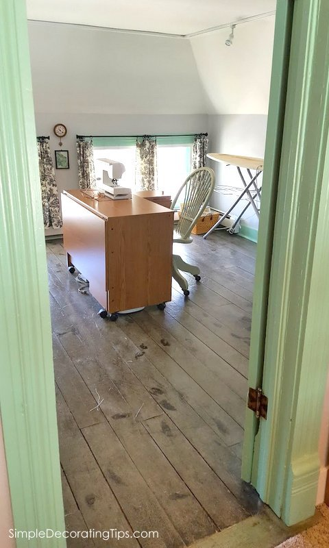 SimpleDecoratingTips.com Our 100 Year Old House Attic Renovation