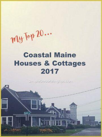 Coastal Maine Houses & Cottages 2017