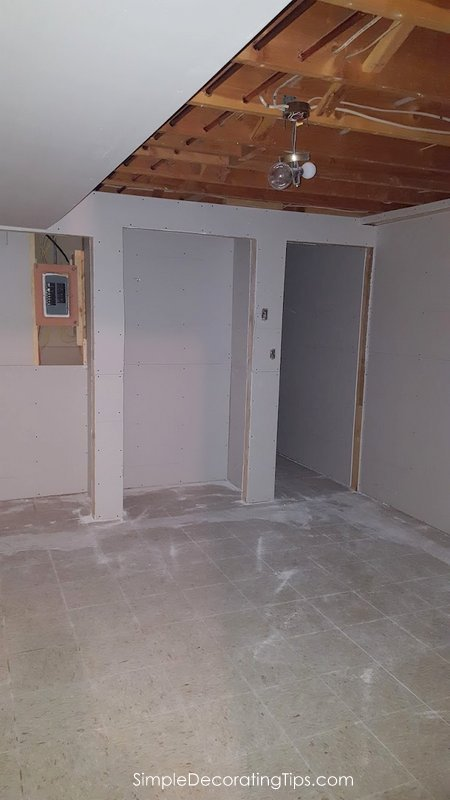 SimpleDecoratingTips.com Basement Apartment Progress