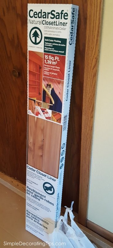 Incroyable SimpleDecoratingTips.com Cedar Closet Lining