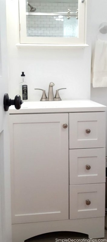 SimpleDecoratingTips.com Basement Apartment Bathroom Renovation Done