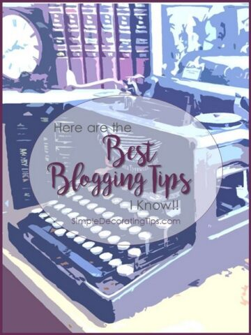 HERE ARE THE BEST BLOGGING TIPS I KNOW
